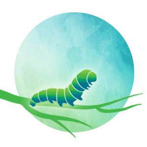 caterpillar-circle