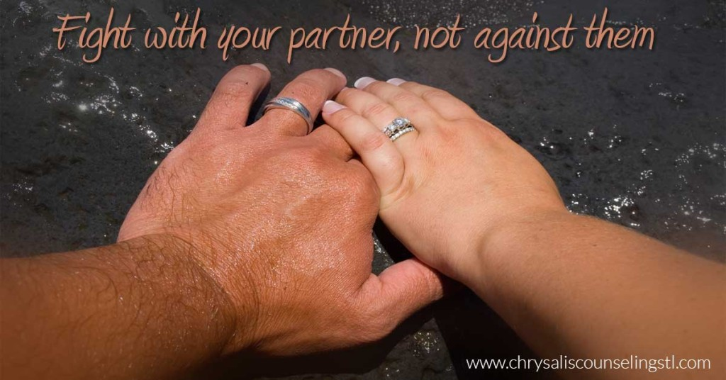 fight-with-your-partner not against them
