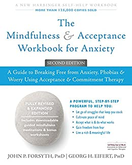 Mindfulness & Acceptnace Workbook for Anxiety